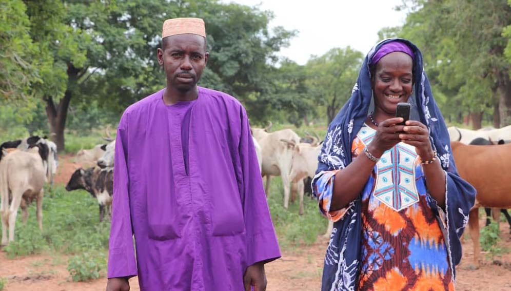Herders avoid violence and drought with satellites