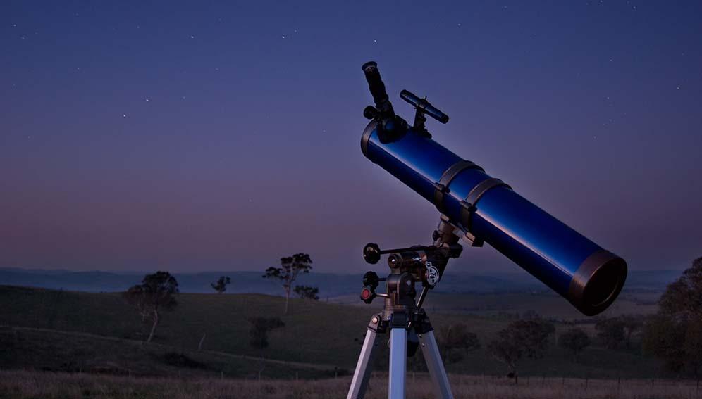 Space spotlight telescope - main