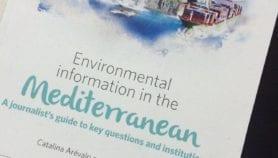 صدور دليل للصحفيين عن بيئة المتوسط
