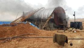جاثوم 'حراقات النفط' يكتم أنفاس السوريين