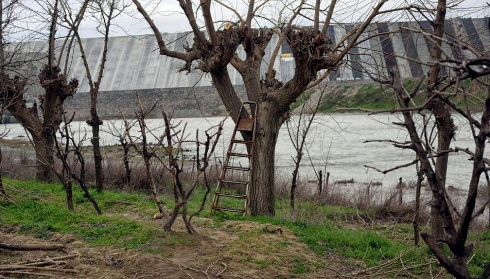 Ilusu dam Turkey
