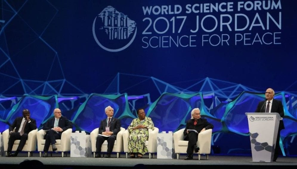 World Science forum 1
