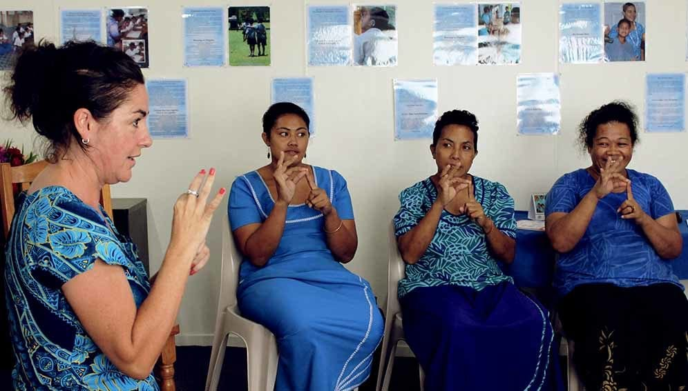 Deaf students in Samoa - MAIN