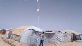 في زمن الوباء.. تعليم عن بُعد في مخيمات اللاجئين بسوريا