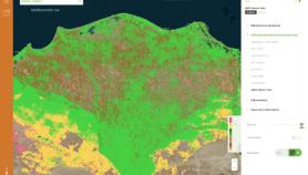 خريطة تفصيلية لتربات أفريقيا