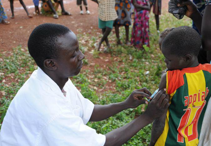 MenAfriVac immunization campaign