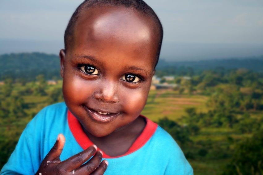Child of Africa - Nsumba, Uganda
