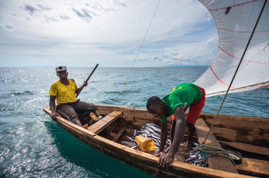 fishermen in late tanganyika