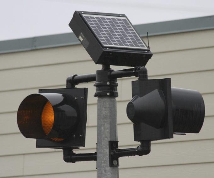 Solar traffic controls