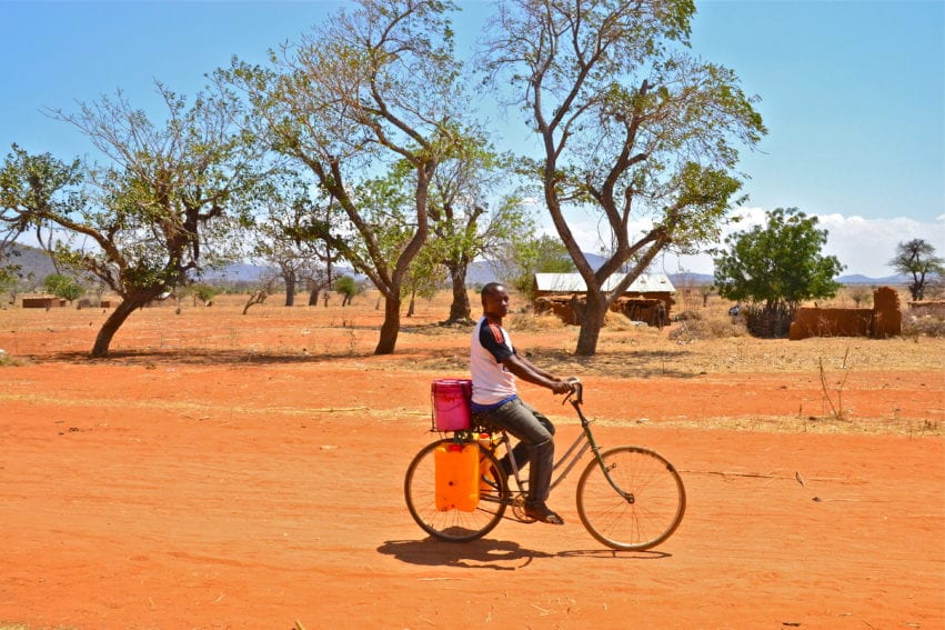 Visit to farmer villages outside of Dodoma, Tanzania