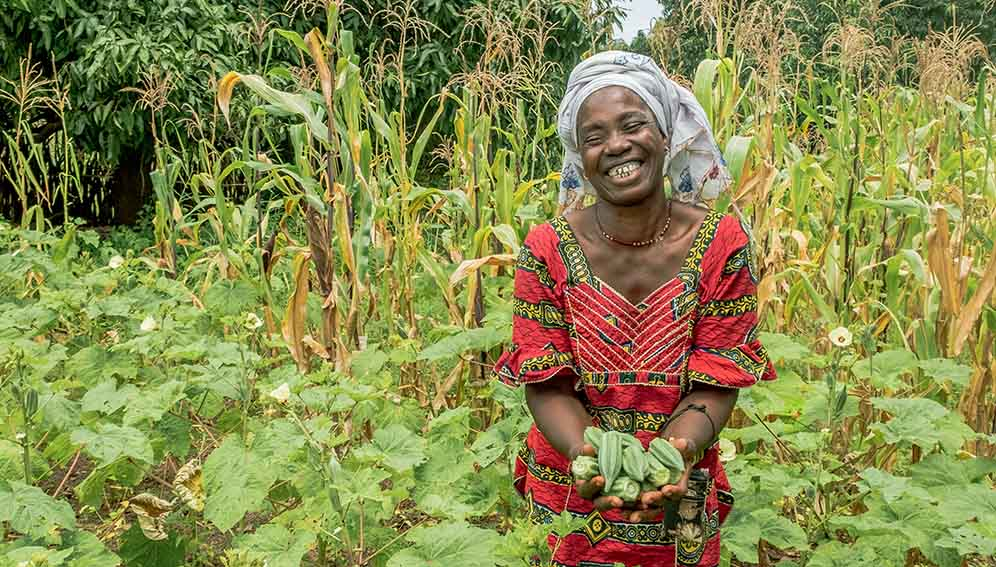 CASA - Microloans boost yields - MAIN