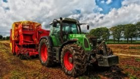 Industrial agriculture threat to the environment