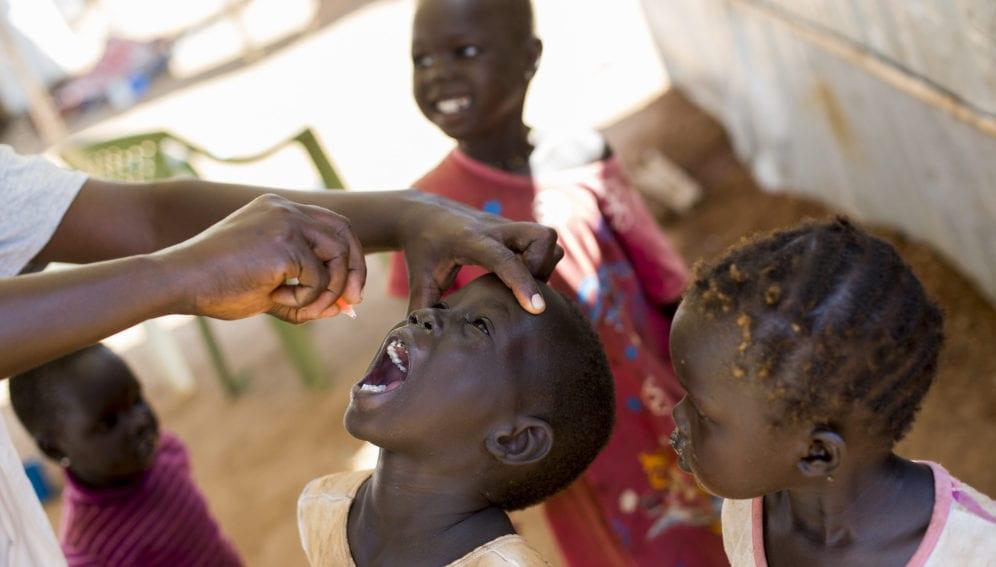 Polio Vaccination Campaign in South Sudan