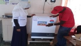 Solar fridges to chill COVID-19 shots in rural Africa