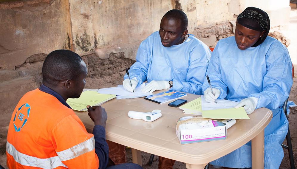 Suivi d'une campagne de vaccination en Guinée